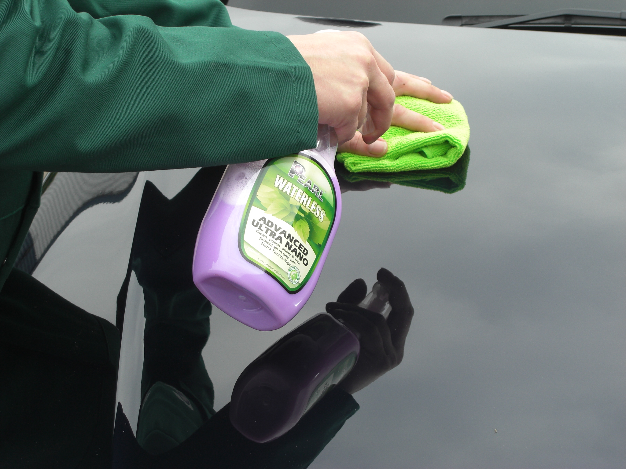 Waterless Car Wash Products Pearl® Waterless Advanced Ultra Nano ultimate waterless exterior ...