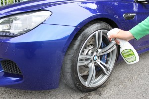 Pearl-Waterless-Car-Wash-BMW-Eco-Tyre-Shine