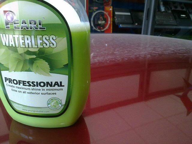 Professional Waterless Showroom Shine